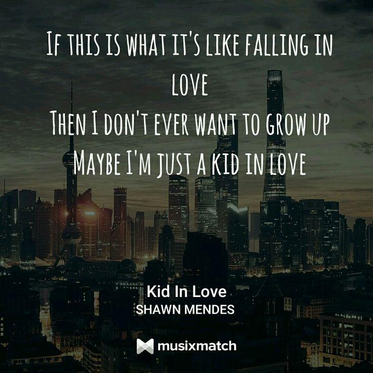 Kid in love