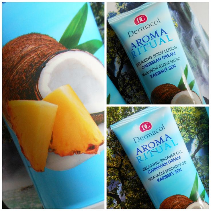 Dermacol Aroma Ritual Caribbean Dream Set - Body Lotion and Shower Gel (Review) | Girl's temptations #DermacolCZSK #DermacolOfficial #Dermacol_CZ_SK #Dermacol #AromaRitual #CaribbeanDream #kokos #bodylotion #showergel | http://www.dermacol.cz/vyhledavani/?q=aroma+ritual+caribbean+dream