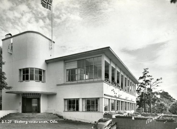 ekebergrestauranten, oslo | lars backer (1927)