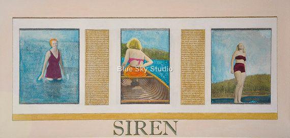 "Siren - From the ""Birds in Summer"" series"