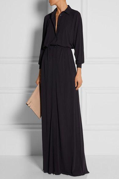 Bottega Venetajersey maxi dress 2150