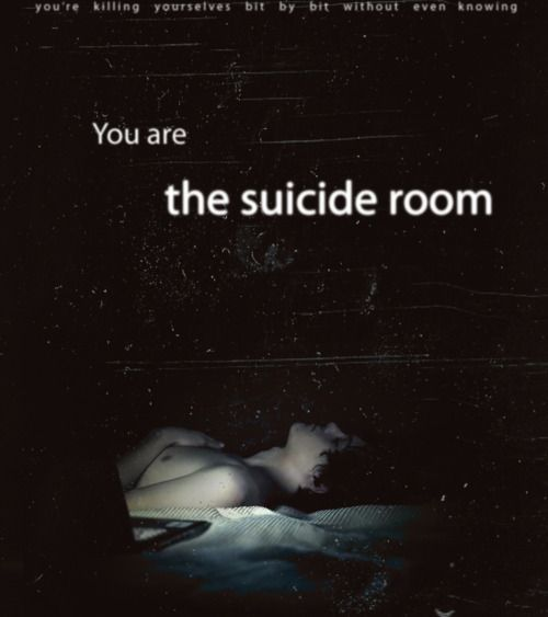 Suicide Room. I would recommend it just because it's a beautiful little film, but it's also very dark and gritty and very, very accurate to life. They don't sugarcoat anything. But if you've ever considered suicide or know someone who has, it's especially potent.