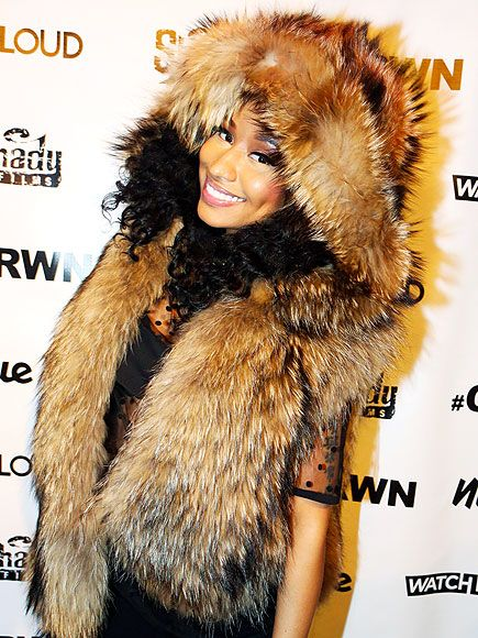 Star Tracks: Wednesday, December 17, 2014 | IT GIRL | Nicki Minaj makes an un-fur-gettable entrance on Tuesday at the CRWN: A Conversation with Elliott Wilson and Nicki Minaj sit-down interview event in N.Y.C.