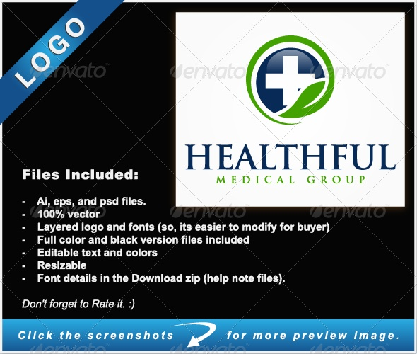 Healthful Logo - Nature Logo Templates