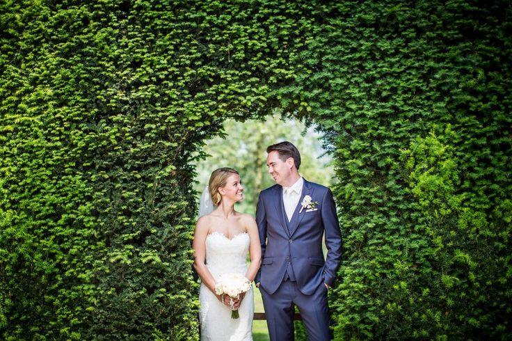 Bruidsfotograaf Kasteel Maurick. Bruidsreportages door Dario Endara Wedding Photography