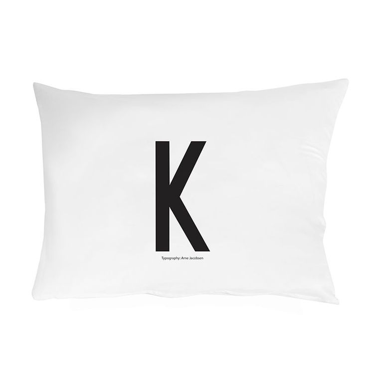 top3 by design - DESIGN LETTERS - design letter pillowcase K
