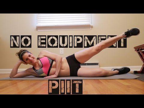 No Equipment (Pilates) PIIT - YouTube