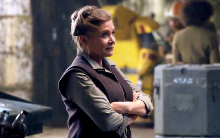 General Leia Organa- Star Wars:The Force Awakens(2015)