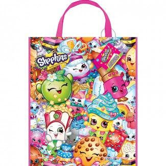 Shopkins Tote Bags - 13in x 11in (Each)