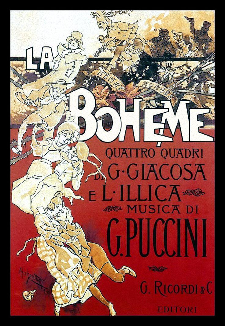 La Boheme  El estreno de La Bohème tuvo lugar en el Teatro Regio de Turín el 1 de febrero de 1896.[5] y dirigido por un joven Arturo Toscanini. La obra tuvo una acogida fría, tanto por parte del público como de la crítica.