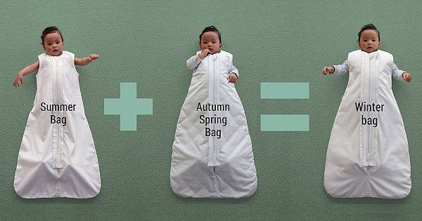 365 Sleepybag – the customisable baby sleeping bags