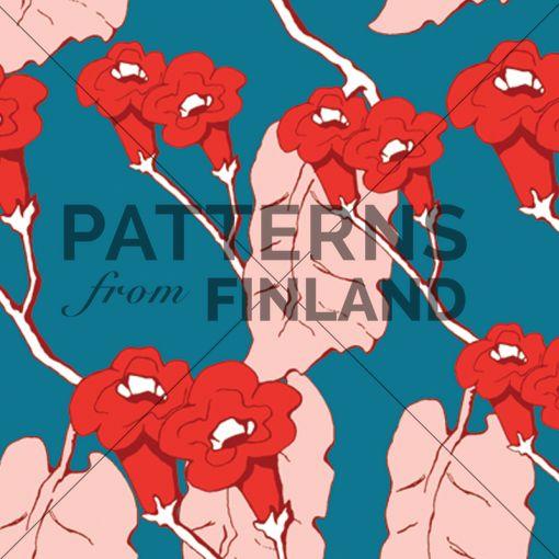 Uni – Sinia by Ilana Vähätupa   #patternsfromagency #patternsfromfinland #pattern #patterndesign #surfacedesign #ilanavahatupa