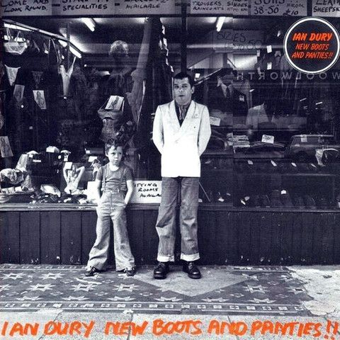 Ian Dury New Boots And Panties!! Vinyl LP