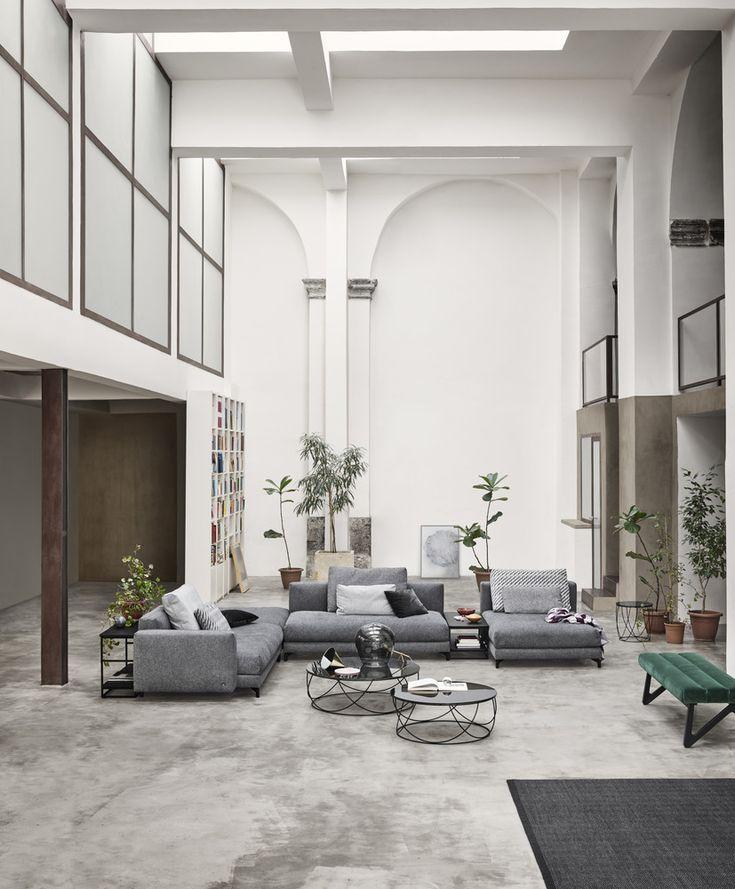 Studio Anise // Rolf Benz Nuvola Sofa #modern #furniture #sectional #modular…