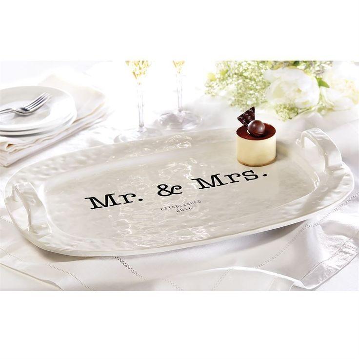 Mud Pie MR U0026 MRS PLATTER Wedding Gift Home Decor NWT Retail $58.99 #MudPie