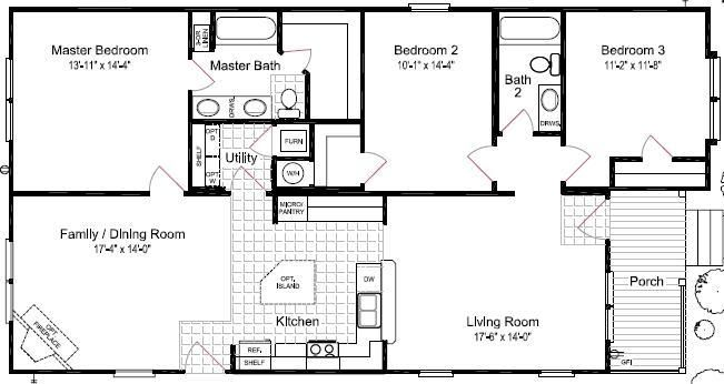 Floor Plans For Site Built Mobile And Modular Homes San Antonio Tx Floor Plans Modular Home Floor Plans Modular Homes