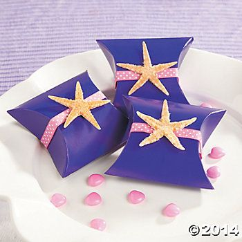 Starfish Favor Boxes