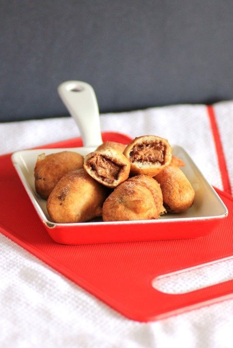Deep Fried Mars Bars- never tried- could be tempted!