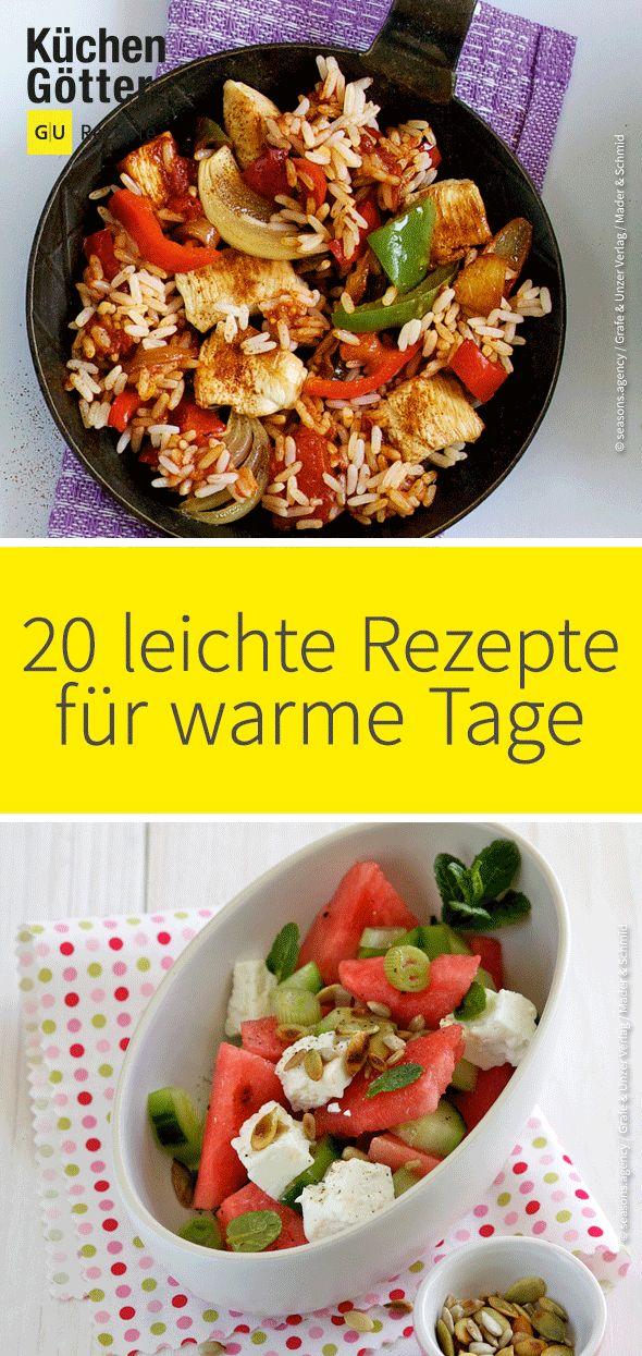 Die 20 leckeresten Rezepte für warme Tage. Von Fe…