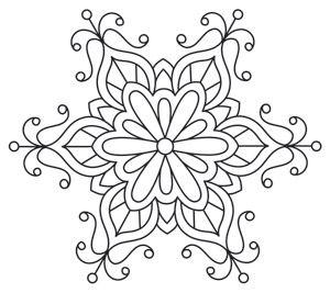 Baroque Noel - Frilly Flake