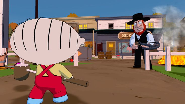 Check out Stewie and Brian in Family Guy: Back Into The Multiverse