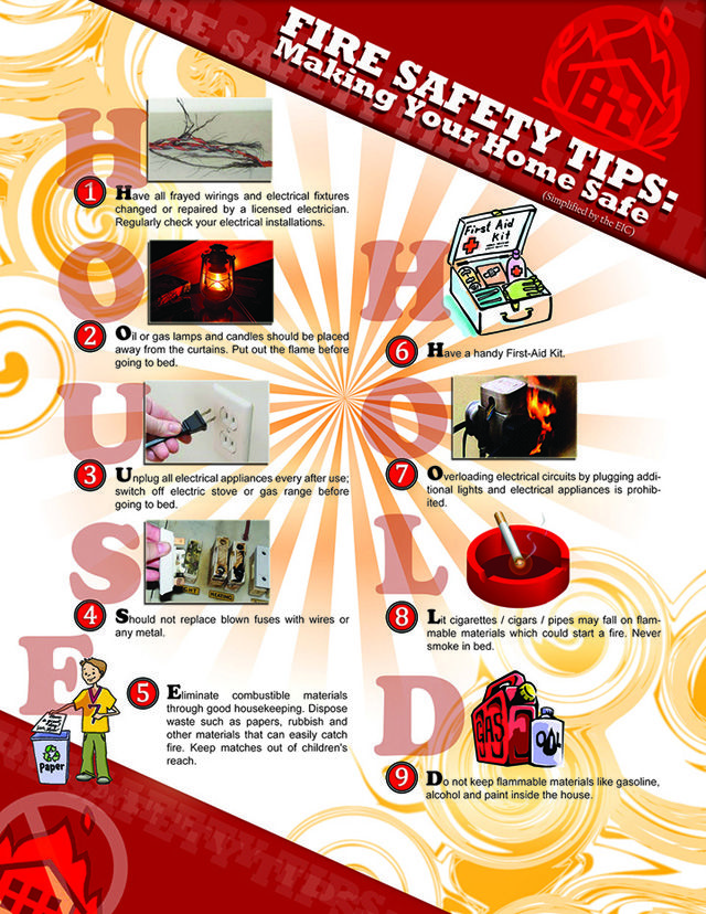 36 best fire prevention images on pinterest parents art for Fire prevention tips for home