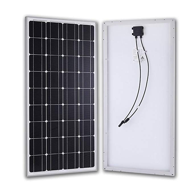 Diy Installation 12v 100w Monocrystal Solar Panels Of Small Wind Solar Power Generating Station Solar Power House Solar Power Solar Energy Panels