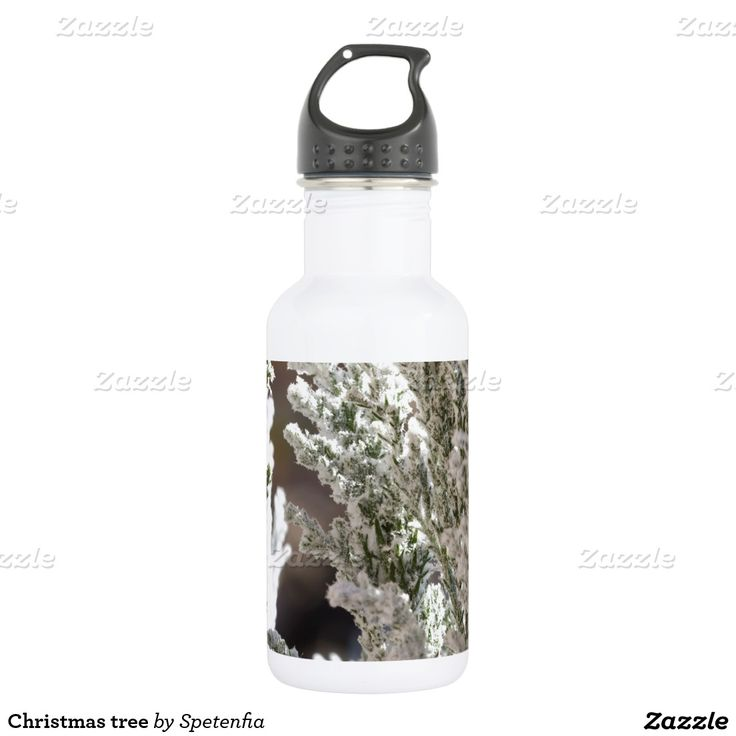 Christmas tree 532 ml water bottle