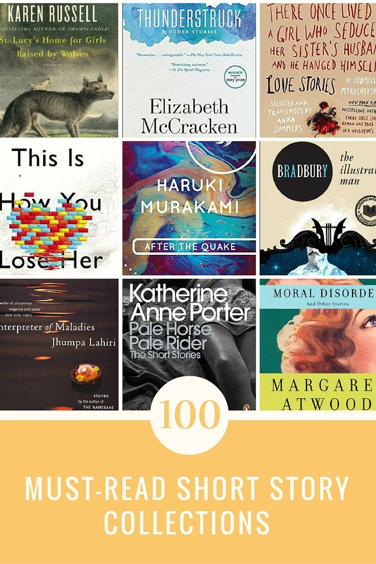 100 short story collections you must read.