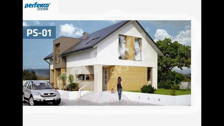 PS-01 _ Projekt autorski domu jednorodzinnego w technologii Perfekko System
