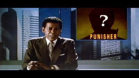 The Punisher (1989) Part I When Frank Castle's family is murdered by criminals, he wages war on crime as a vigilante assassin known only as the Punisher.   Stars: Dolph Lundgren, Louis Gossett Jr., Jeroen Krabbé   http://www.imdb.com/title/tt0098141/