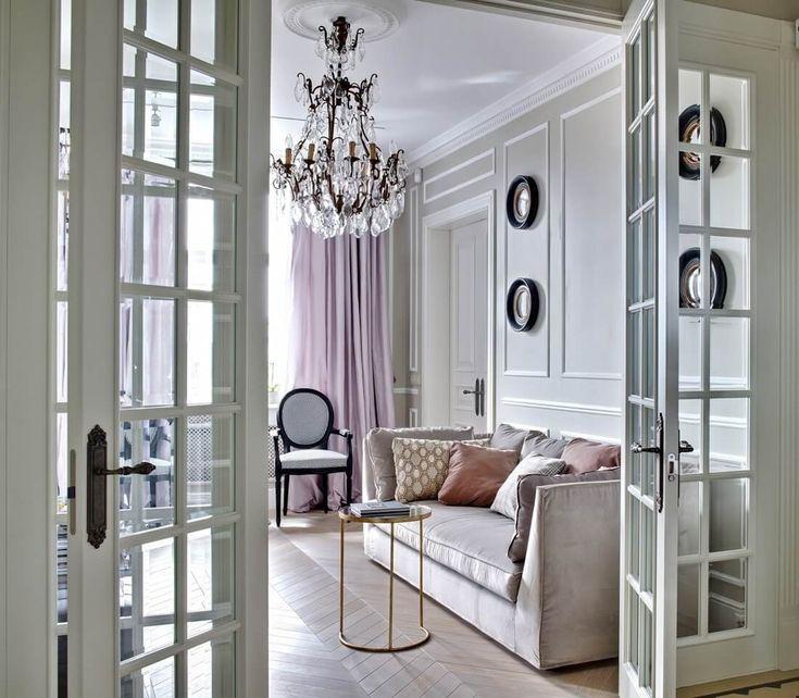Интерьер в парижском стиле - фото