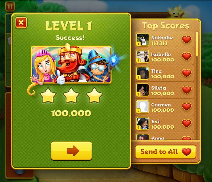 #CharmKing #Charm #King #Score #lvl #Game #FB #Facebook #Match3 #star #stars #lvlup #finish #win