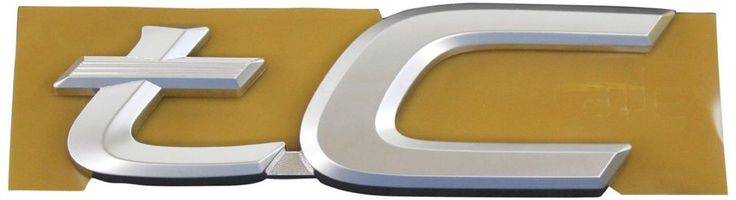 GENUINE SCION TC BACK DOOR EMBLEM NAME PLATE BADGE 7544521080 OEM BRAND NEW ITEM #Scion