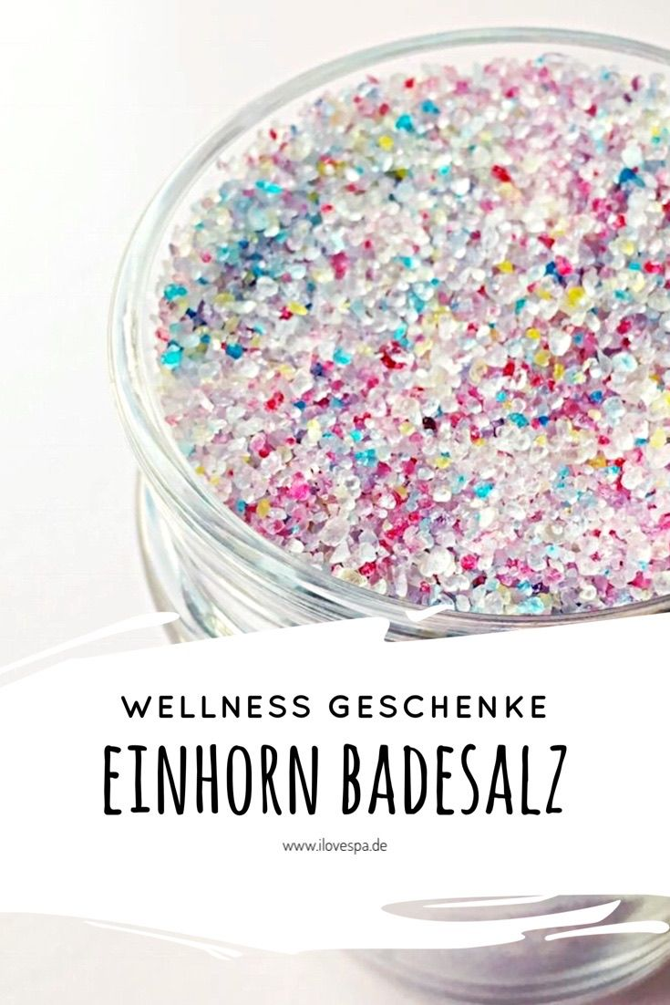 Full Moon Unicorn Bath Salt – Magical DIY Einhorn Badesalz – I LOVE SPA