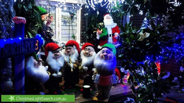 Christmas Lights in Lilyfield, NSW. http://xmaslights.co/lilyfield
