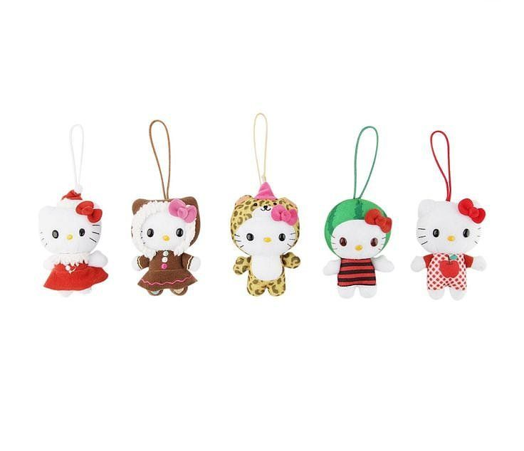 Liven up your tree with these adorable Hello Kitty ornaments ($36). Each feature a different Hello Kitty in costume.