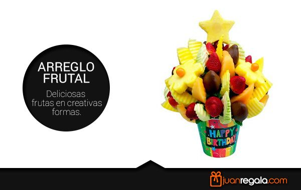 Arreglo Frutal. - JuanRegala.com -
