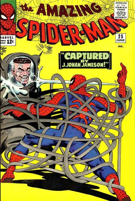 The Amazing Spider-Man #25, June 1965, cover by Steve Ditko
