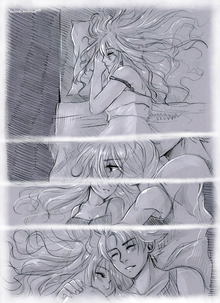 Nalu Cuddle by Shandisworld on DeviantArt