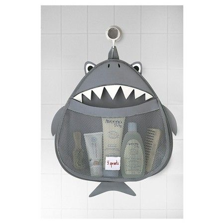3 Sprouts Baby Bath Organizer - Shark : Target