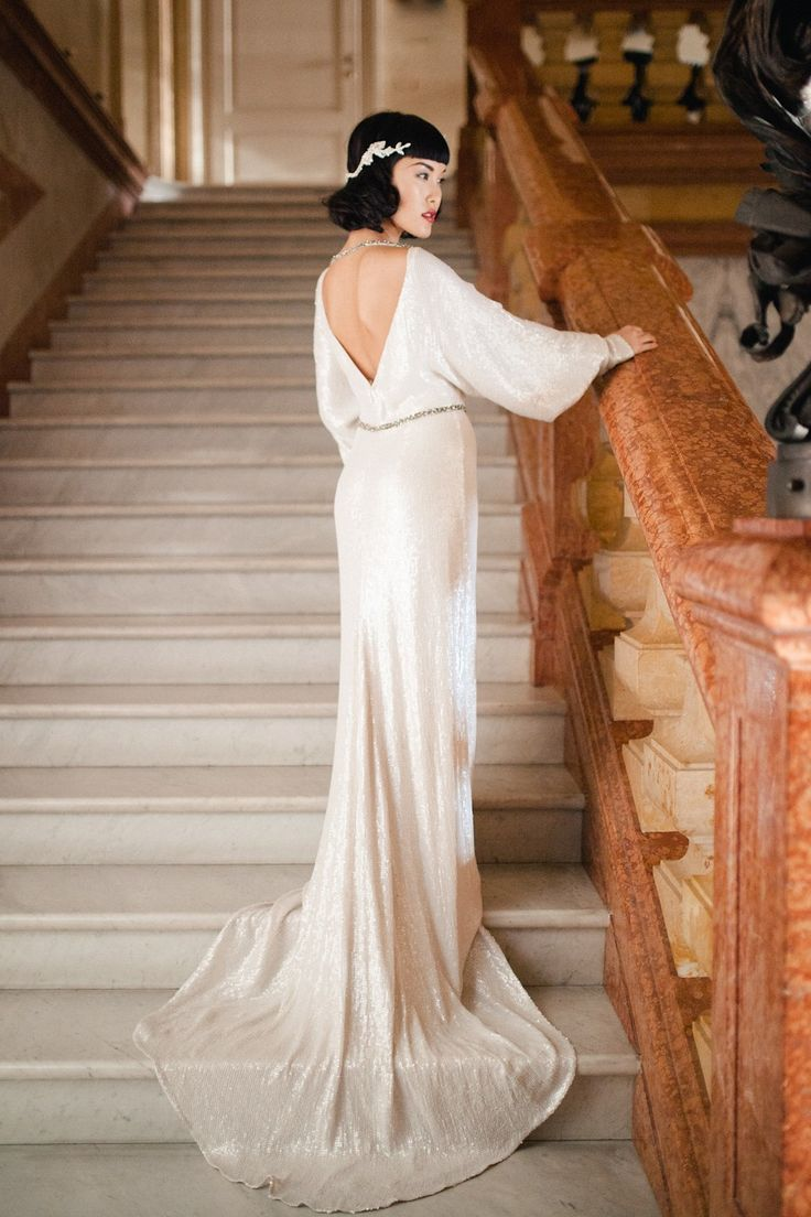 598 best 1920s wedding images on pinterest 1920s wedding 1920s jazz age inspired bridal glamour on lake como ombrellifo Gallery