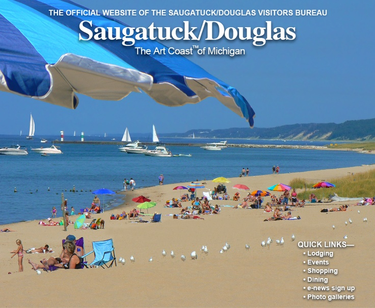 Oval Beach Saugatuck Michigan One Of The Best Beaches And Shorelines In The World I