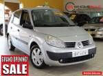 2005 Renault Scenic Phase II J84 Expression Silver Manual 6sp M Hatchback