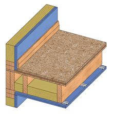 Sound Insulation for Part E timber framed floor and wall junction ...