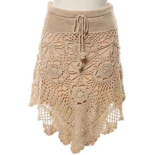 Crochet skirt    FALDA AL CROCHET