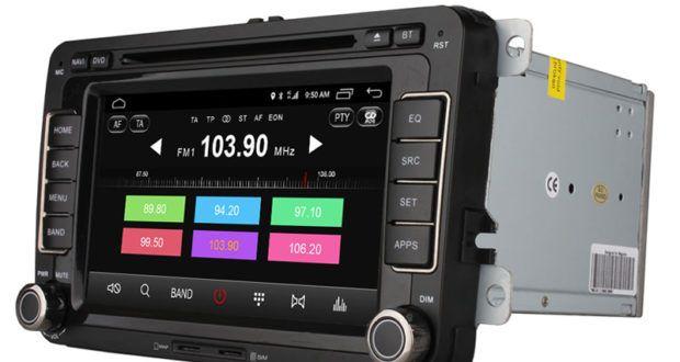 Double Din 7  Android 6.0 Car DVD Player Radio 2 G RAM for VW Passat POLO GOLF Skoda With GPS Navi 4 G LTE 17952,29 руб  / шт   Бесплатная доставка   Buy now!