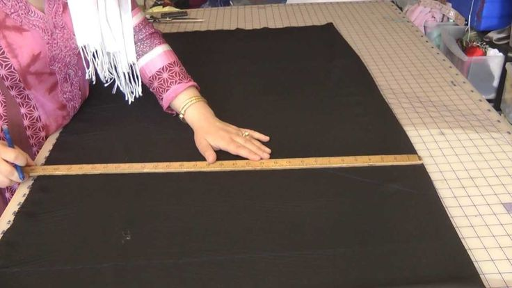 Sewing A Pattiala Salwar, Easy: Part 1