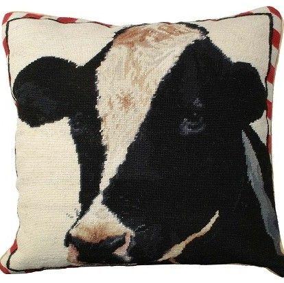 Holstein Cow Pillow