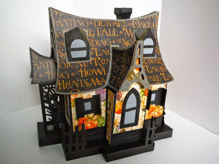 svg cuts bewitched cabin file haunted house - Halloween Houses Decorated